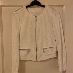 Club Monaco sort woven jacket